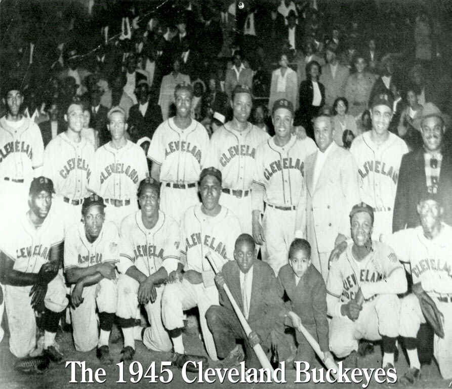 Negro League players from the Cleveland Buckeyes