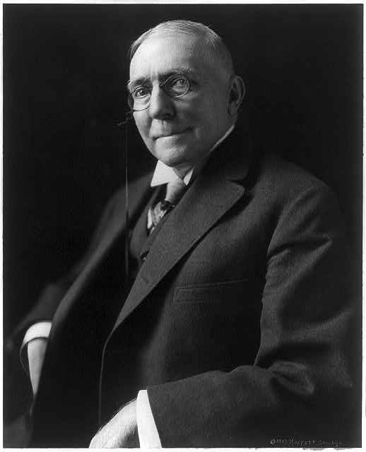 James Whitcomb Riley circa 1913. Courtesy of the Library of Congress.