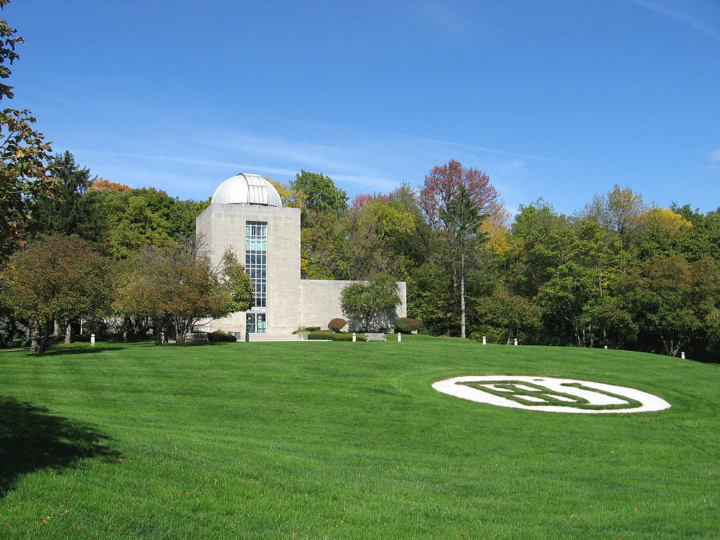 Holcomb Observatory and Planetarium, home to the largest telescope in the state of Indiana