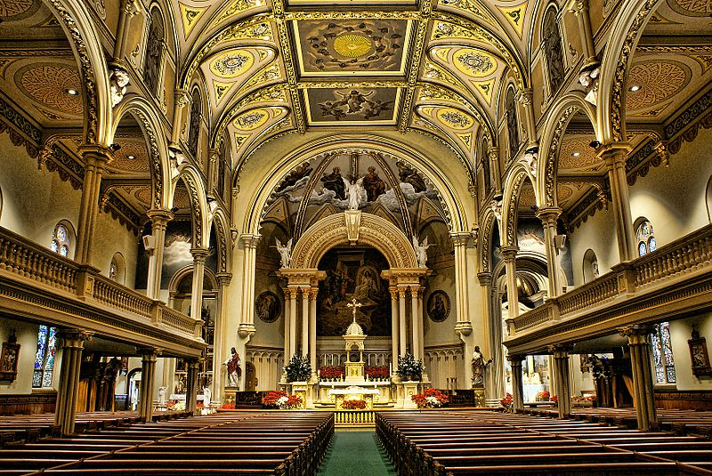 Interior of St. Mary's