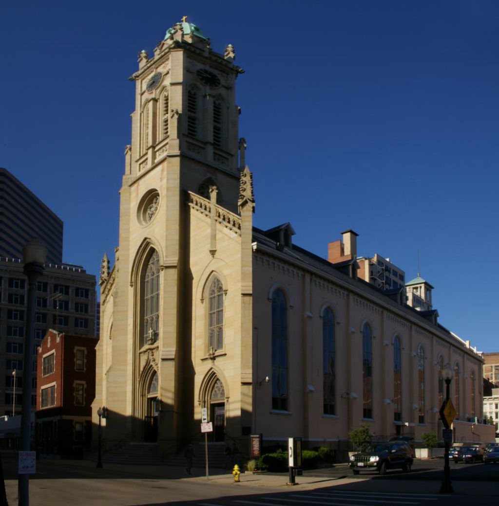 St. Francis Xavier Church was built in 1861. Photo: Wikimedia Commons