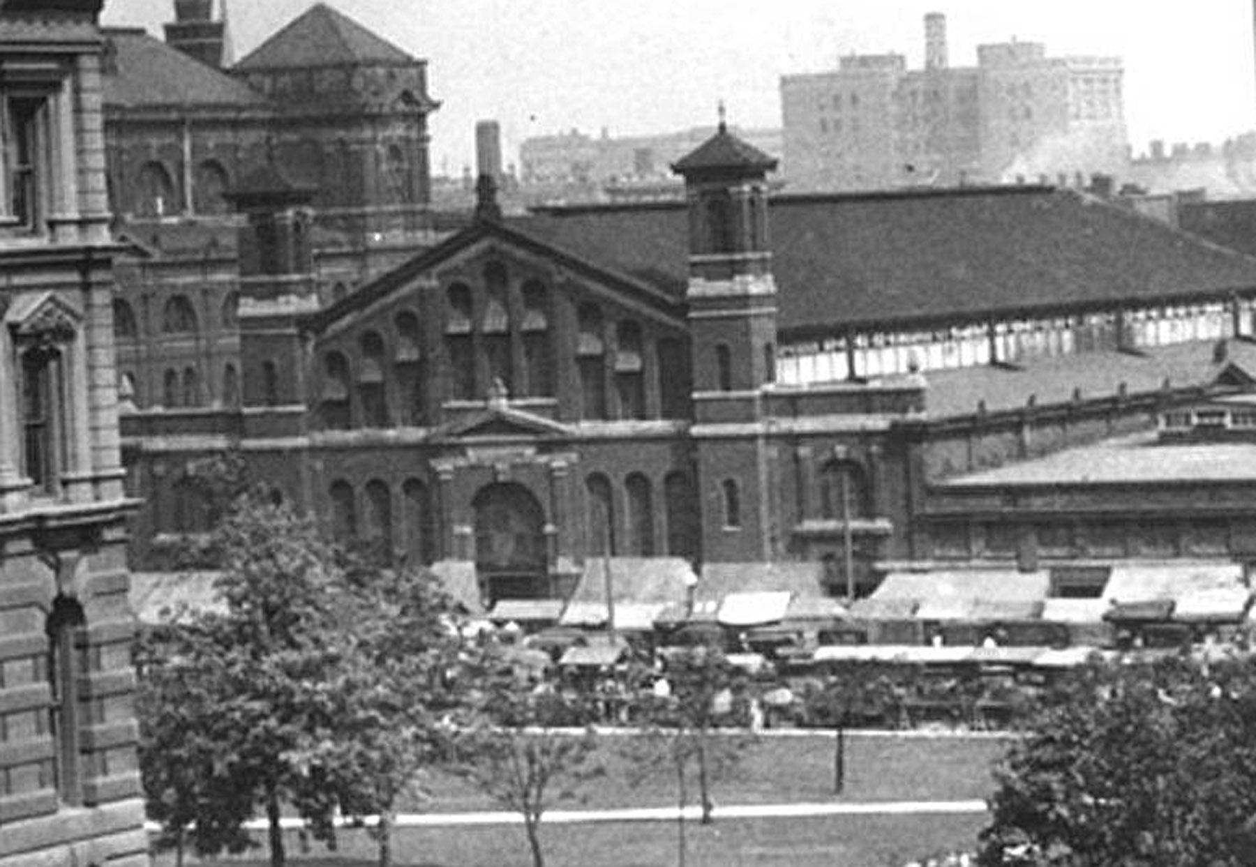 City Market as it looked in 1924.