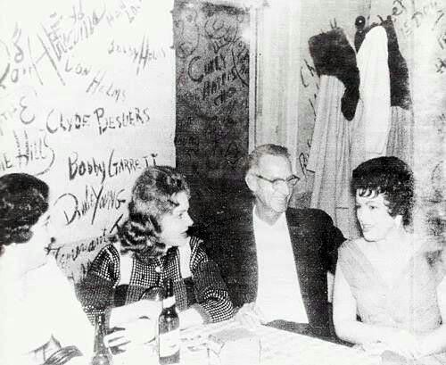 Patsy Cline in Tootsies Shortly Before Her Death in 1963