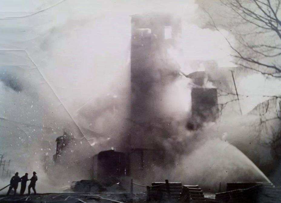 During the 1958 fire