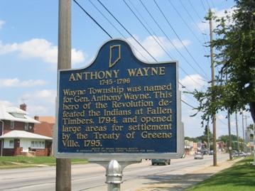 General Anthony Wayne Historical Marker