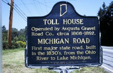 Toll House roadside marker