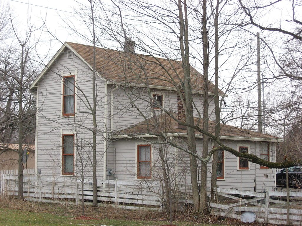 Michigan Road Toll House as it looked as of 2010
