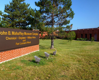 Entrance to the John B. Mahaffey Museum Complex
