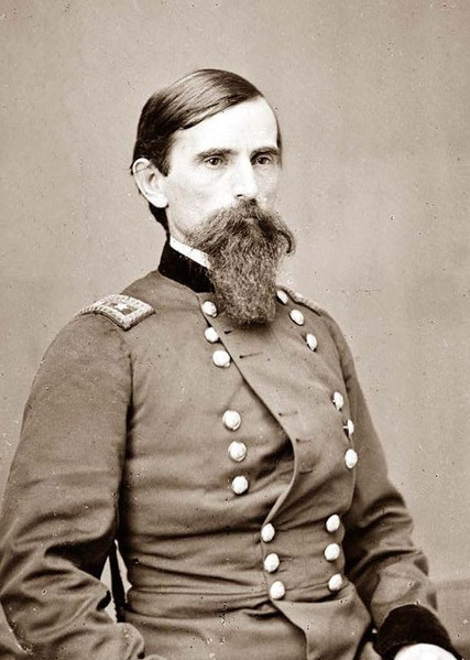 General Lew Wallace, who established the camp.