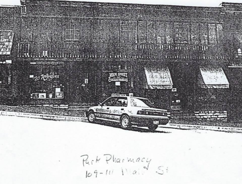 Photograph is from 1994 Historic Property Inventory of Parkville.