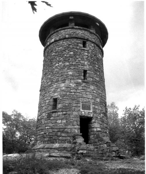Haystack Mountain Tower, photographed by David Ransom (see below for a link to the full NPS photo gallery).