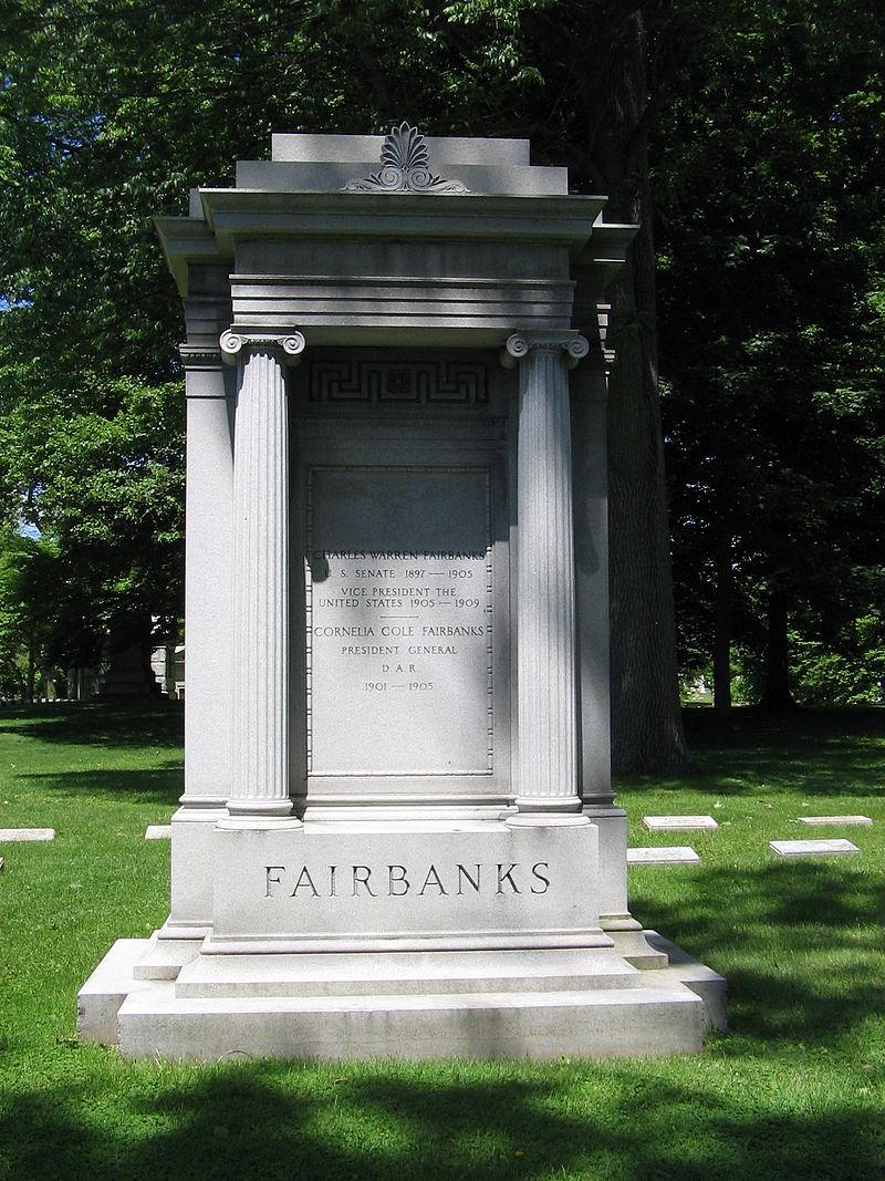 Gravesite of Fairbanks