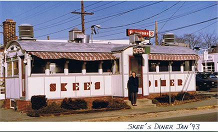 The Diner in 1993 ((source: Torrington Historic Preservation Trust, full citation below)