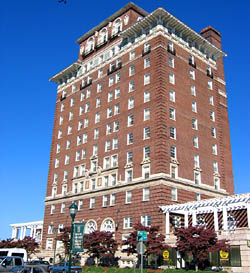 Battery Park Hotel, photo located at the City Development Office, City of Asheville.