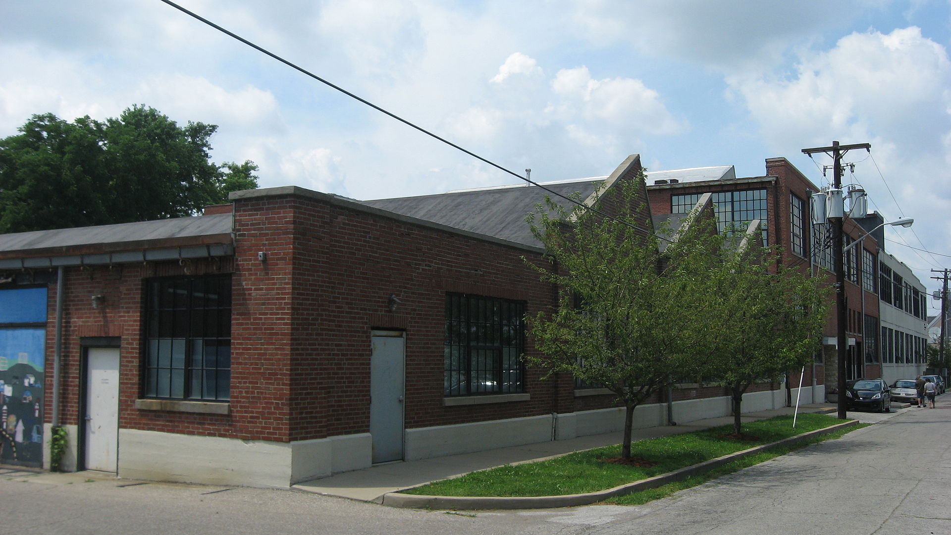 The Wheeler—Schebler Carburetor Company Building as it looks today