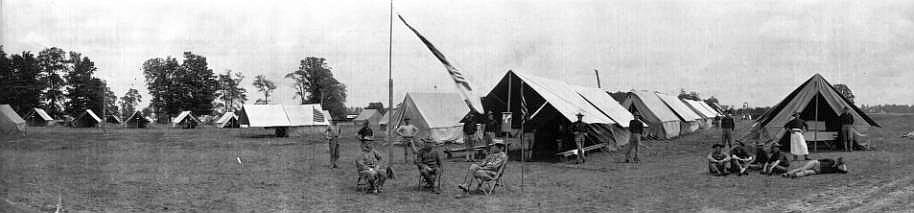 Fort Benjamin Harrison circa 1910