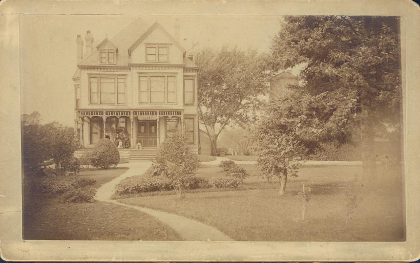 Ansel B. Cook Home, circa 1890