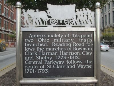 The marker belongs to a series created by Ohio Revolutionary Memorial Commission.