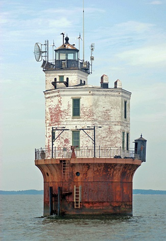Current Smith Point Lighthouse