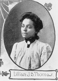 Lillian Thomas Fox in 1927