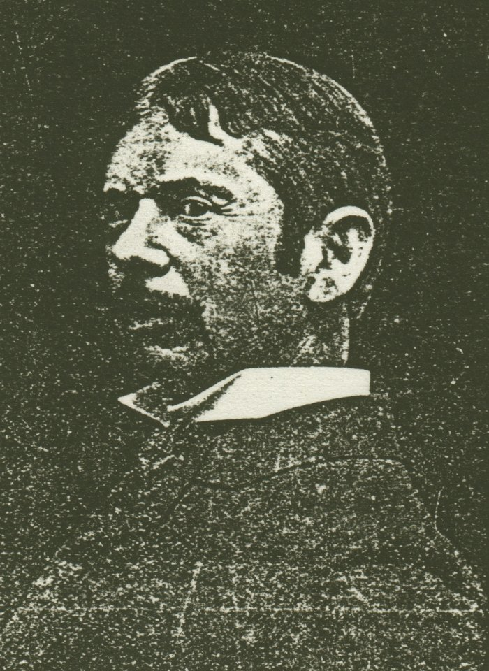 Undated newspaper photo of William Forsyth