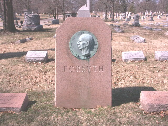 William Forsyth's gravesite