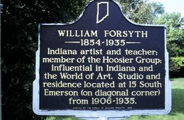 Historical Marker about Forsyth