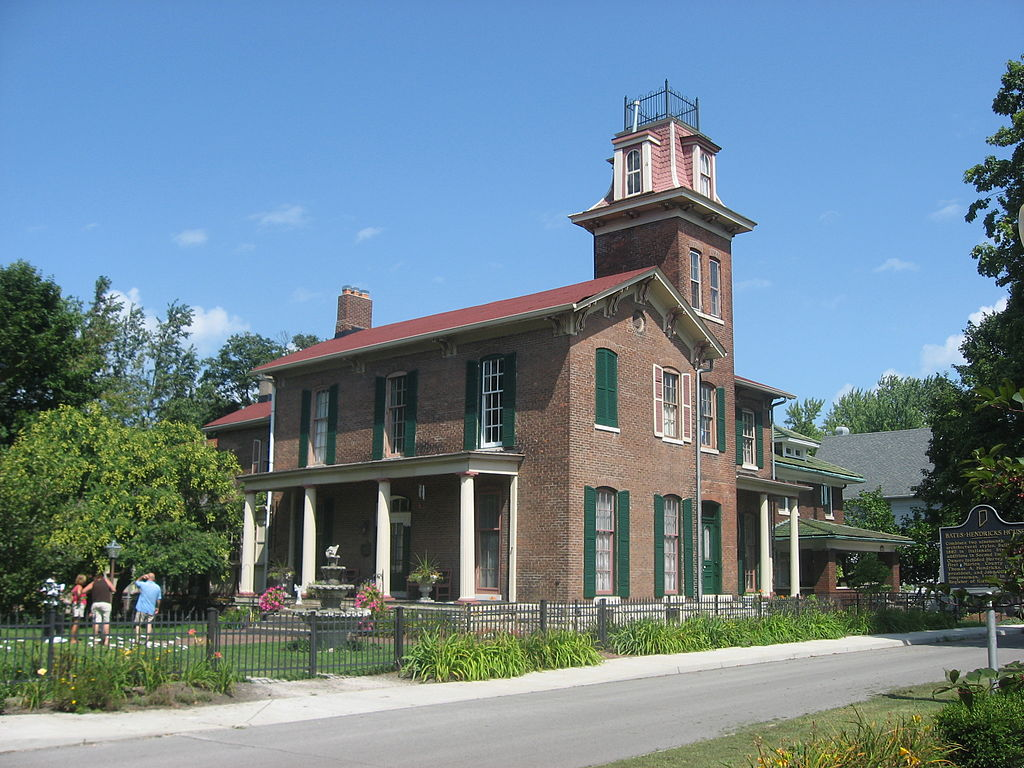 Bates-Hendricks House as it looks today