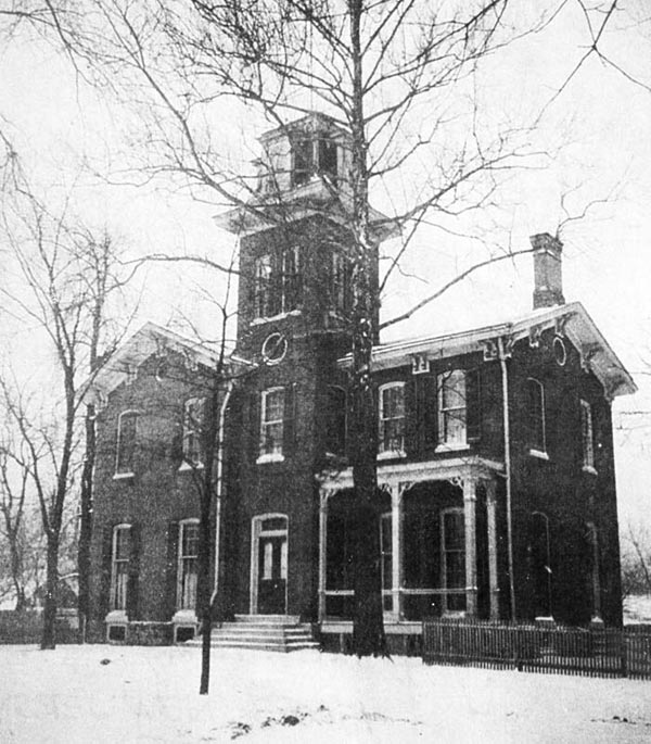 Bates-Hendricks House in 1910