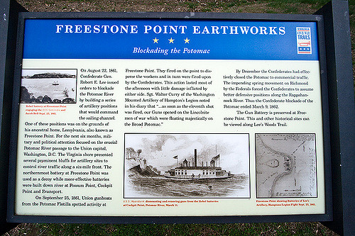 State Park Historical Sign