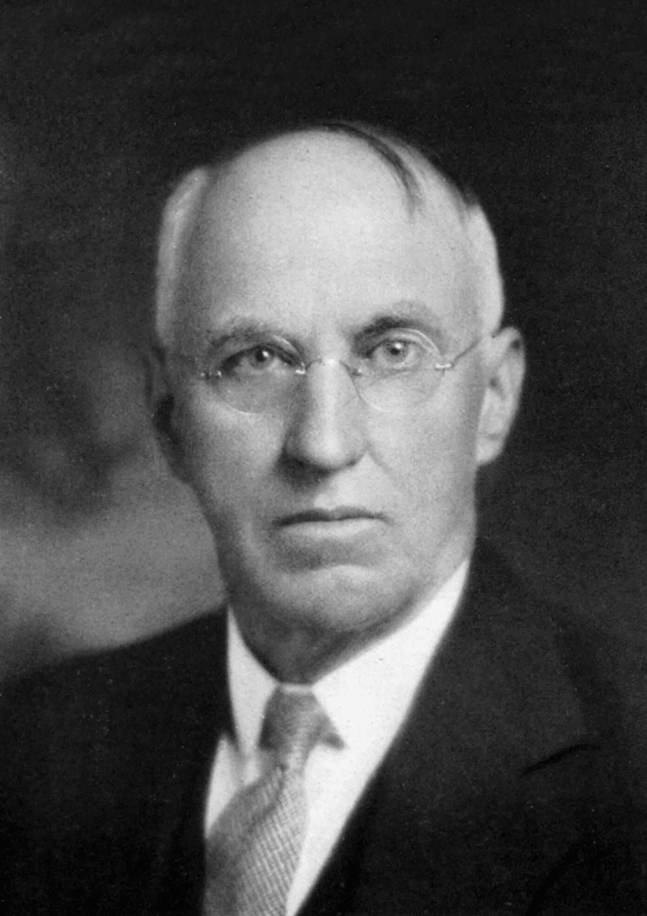 William C. McConnell, Mars Hill College Trustee, benefactor, and namesake of McConnell Gymnasium