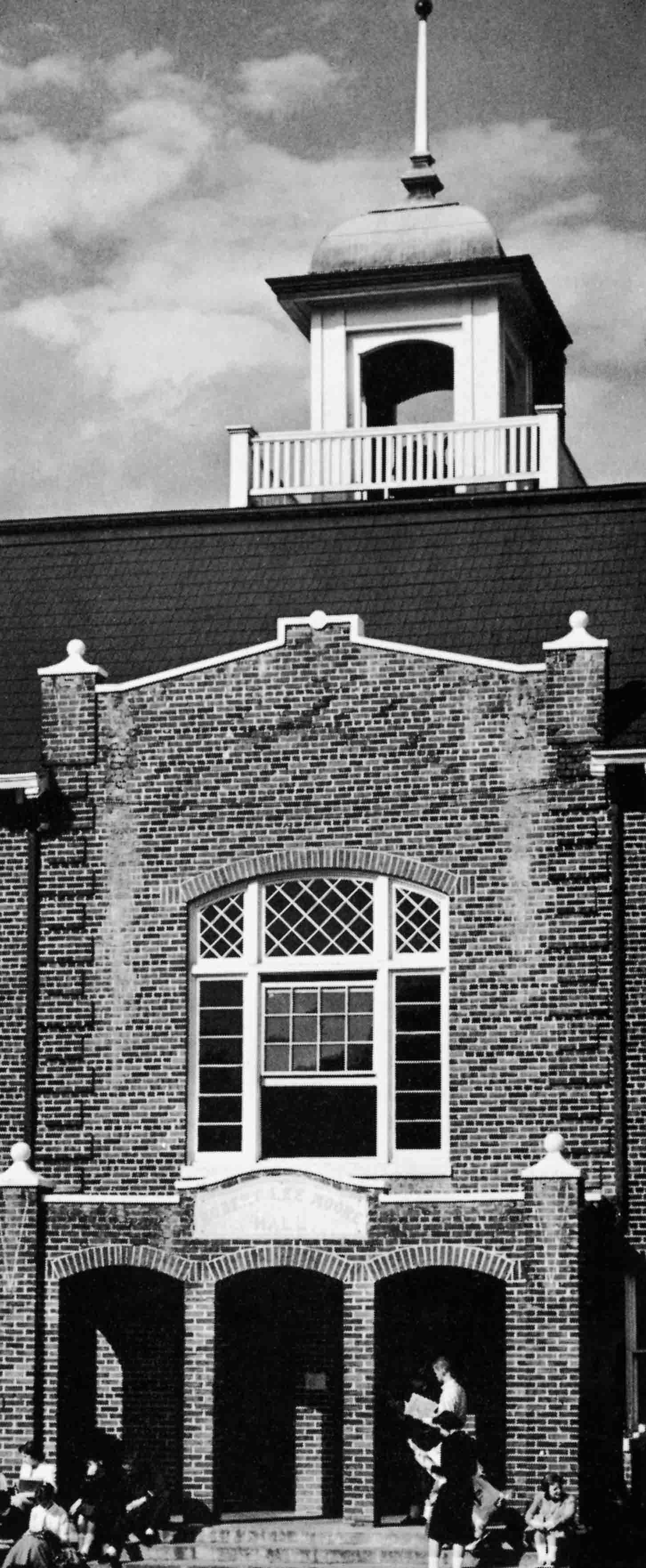 Front view of Marshbanks Hall.