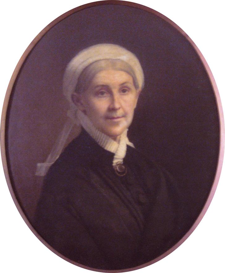 Portrait of Mary Minor Blackford, courtesy of Mansel G. Blackford.