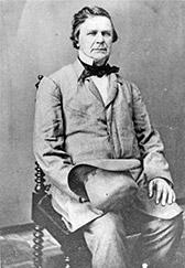 Circa 1840s-1860s photo of Fletcher. Courtesy of Indiana Historical Society.