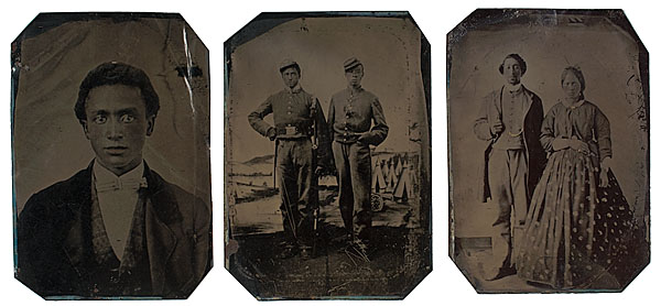 Private Marcus Harvey, 28th Indiana USCT, Tintype Collection Image Source: Cowan's Auctions, Cincinnati, Ohio.