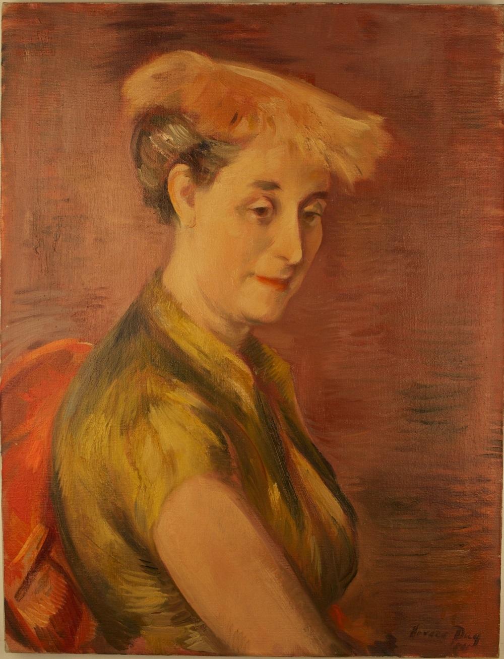 Portrait of Elizabeth Nottingham Day by her husband Horace Talmage Day, courtesy of Horace Talmage Day Jr.