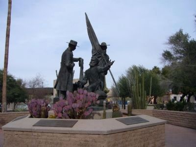 The Mormon Battalion Monument