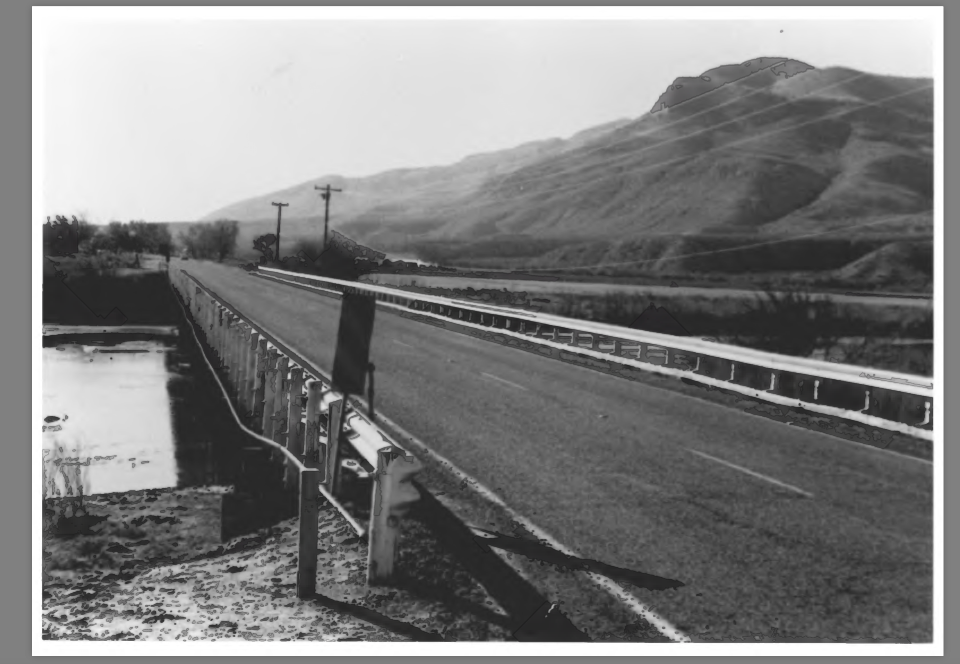 Blast from the Past: Rio Grande Bridge at Radium Springs (circa 1985)