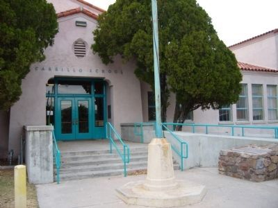 Carrillo School was built in 1930 and named after Leopoldo Carrillo, the former owner of the property.