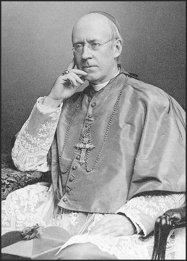 Bishop Silas Francis Chatard, who was instrumental in the creation of St. Vincent's