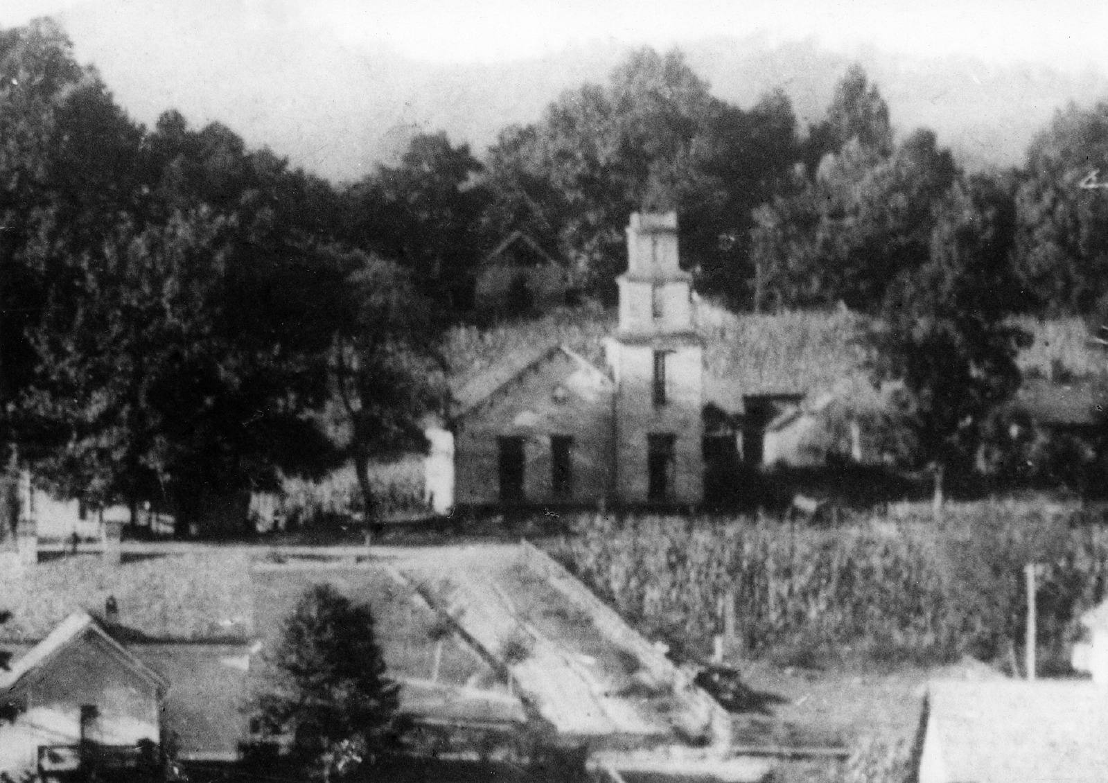 Mars Hill Baptist Church, 1887.