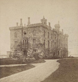 Smallpox Hospital in 1870 (NYPL Robert. N. Dennis Collection)