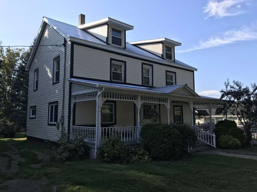 The Hopkinton House was originally built in 1817. The Hopkinton Historical Group and the Hopkinton Town Board bought the house in 1985.
