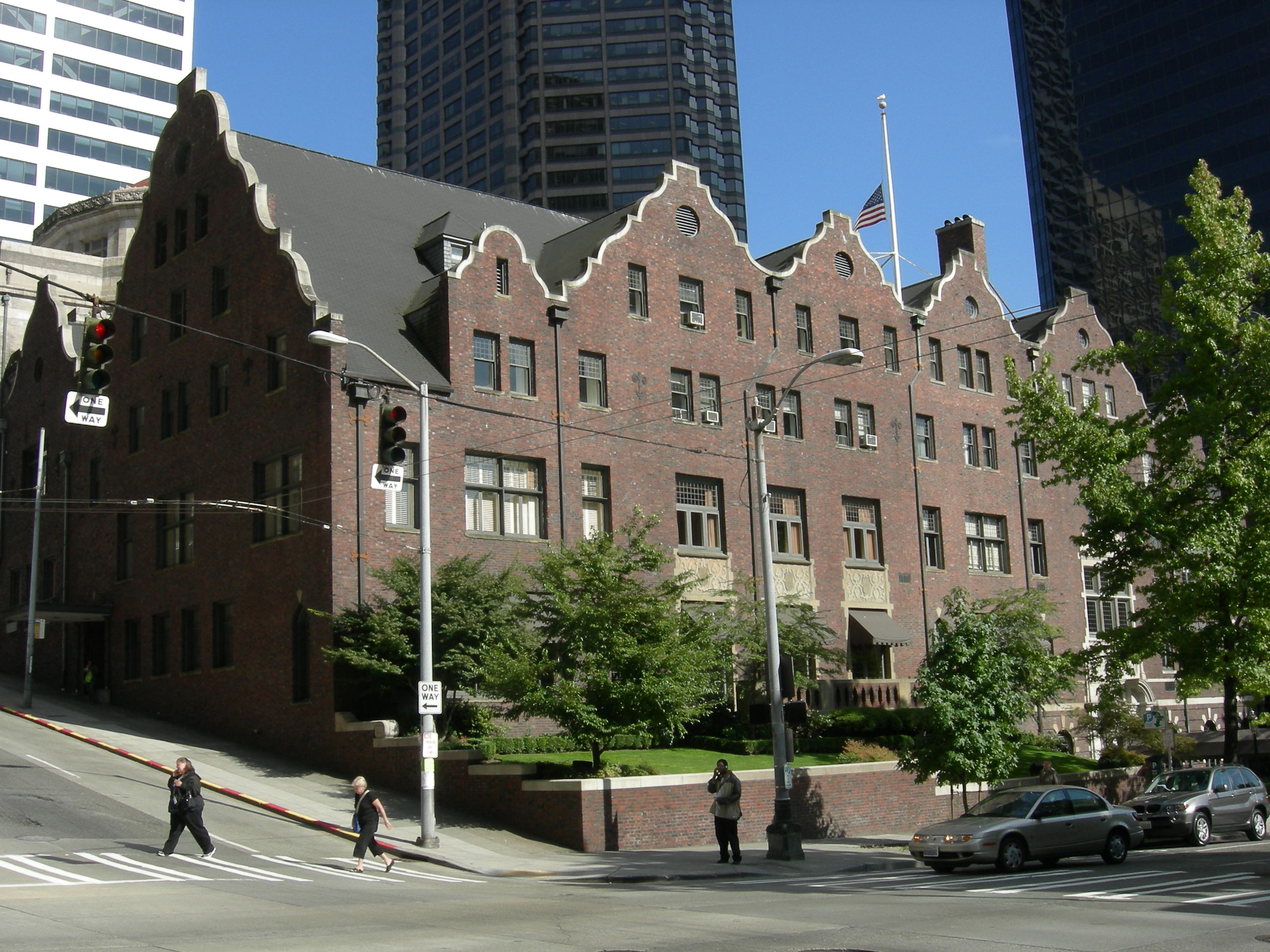 The Rainier club remains one of the most elegant and exclusive spaces in Seattle. Through its historic fund, members work to preserve the building which continues to host economic, political, and social functions.