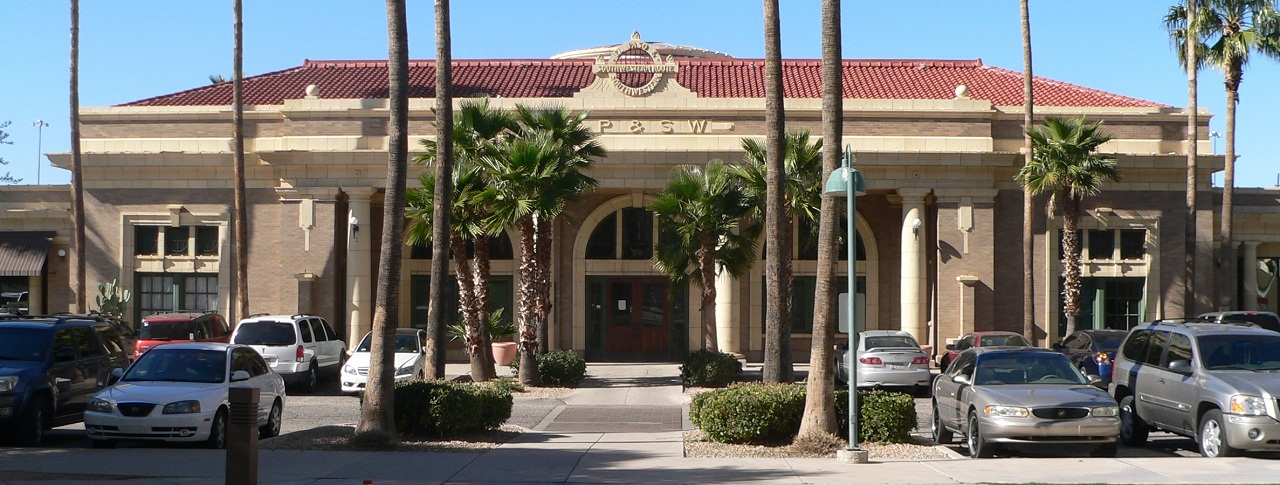The El Paso & Southwestern Depot was built in 1912.