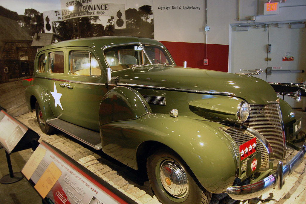 Display of Patton's command car