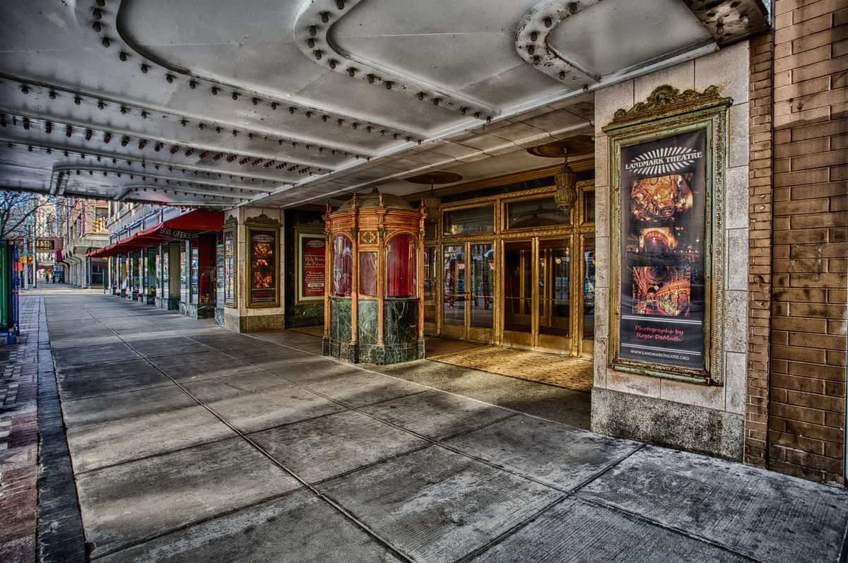 Entryway to the theater.