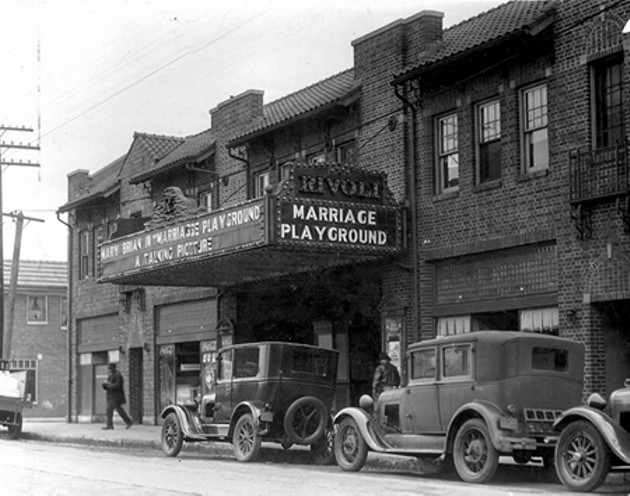 The Rivoli in the years following its opening in 1927.
