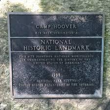 Historical Marker of Camp Hoover