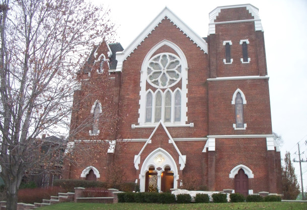 The former Fletcher Place United Methodist Church